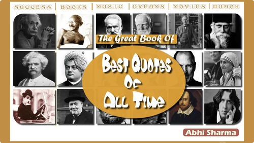 Product picture The Great Book Of Best Quotes Of All Time