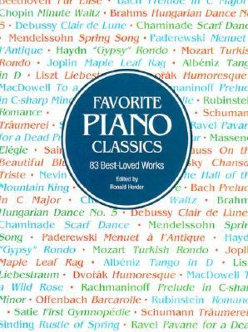 Product picture Favorite Piano Classics